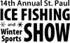 We will be selling our Waxworm Breeder Kits and Illuminator glow jigs at the 14th annual St. Paul Ice Fishing Show