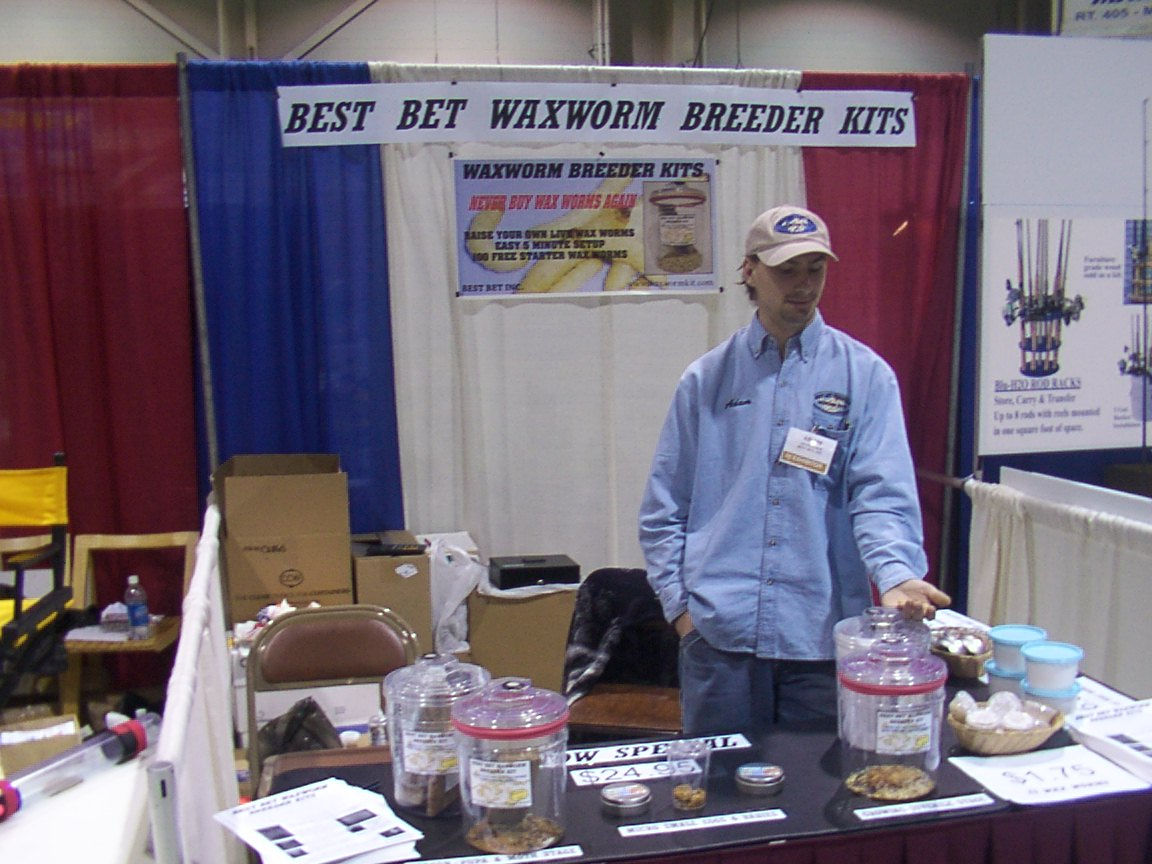 US AT THE 51st EASTERN SPORTS & OUTDOORS SHOW IN HARRISBURG, PENNSYLVANIA