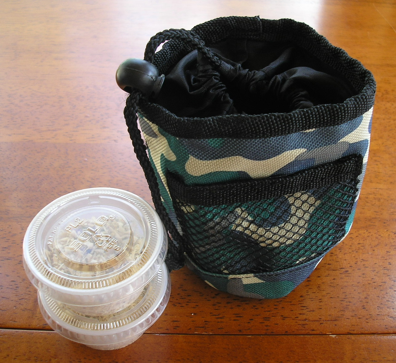 SMALL EXTREME WEATHER POUCH FOR WAXWORMS